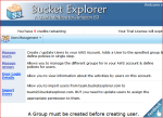bucket explorer team edition- for synchronization of team work.